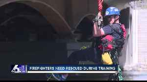 Boise Fire Department training turns into a real-life water rescue [Video]