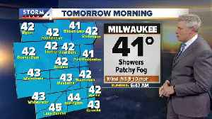 Rainy trend continues until noon Wednesday [Video]