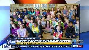 Good morning from Middleborough Elementary School! [Video]