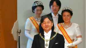 Emperor Naruhito Ascends To Throne [Video]