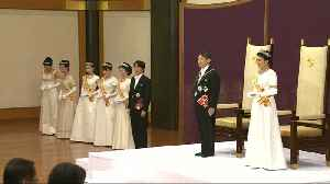 Japan's new Emperor Naruhito officially takes up post [Video]