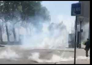 Police Fire Tear Gas to Disperse May Day Demonstrators in Lyon [Video]