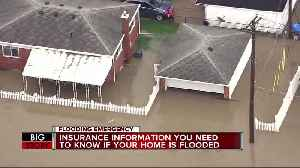 Insurance information you need to know if your home is flooded [Video]