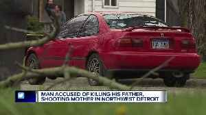 Detroit man allegedly killed dad, shot mom believing they did something to his car [Video]