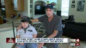 Father of child with special needs concerned over handling of noise complaint at cinema [Video]