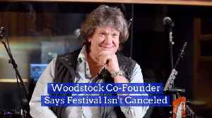 It Seems Woodstock Is Back On For Today [Video]