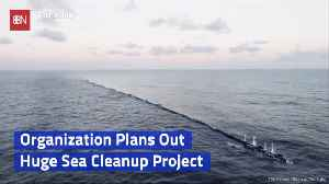 Ocean Cleanup Effort Will Work On The 'Pacific Trash Vortex' [Video]