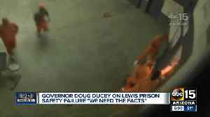 Ducey says retired judges to probe prison locks [Video]