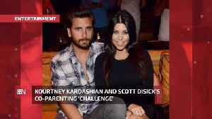 Kourtney Kardashian And Scott Disick Handle Parenting Differently [Video]