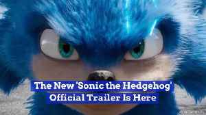 'Sonic The Hedgehog' First Trailer Is Getting A Lot of Notice [Video]