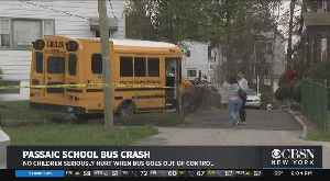 Special Needs School Bus Crashes In NJ [Video]