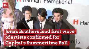 Jonas Brothers Will Be Part Of Capital's Summertime Ball [Video]