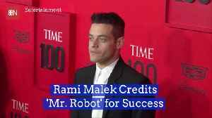 Rami Malek Thinks Mr. Robot Was His Big Break [Video]