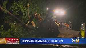 Team Coverage Of Storms And 'Brief Tornado' In North Texas [Video]