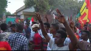 News video: Sudan protesters defiant as army warns 'no more chaos'