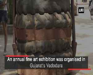 Fine art exhibition organised in Gujarat's Vadodara [Video]