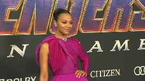 Zoe Saldana ignored her own phone ban after 'Avengers: Endgame' launch [Video]
