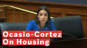 Alexandria Ocasio-Cortez Says It's 'Morally Wrong' That Housing Departments In NYC Are Underfunded [Video]