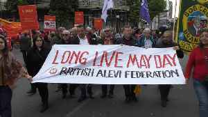 Annual May Day march takes place in London [Video]