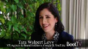 YouTube Carves Out Traditional TV For Advertisers Seeking Premium: Walpert Levy [Video]