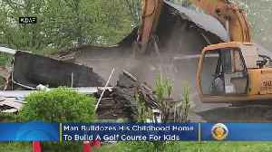 Man Sacrifices Childhood Home To Build Golf Course For Inner-City Kids [Video]
