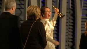 Olivia Colman hides her Oscar away from kids [Video]