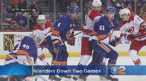 Islanders Need Some Semblance Of Offense If They Are To Turn Series Against Hurricanes Around [Video]