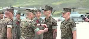 Marines honored for bravery during 1 October shooting [Video]