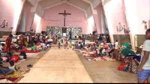Mozambique church a refuge for Muslim cyclone survivors [Video]