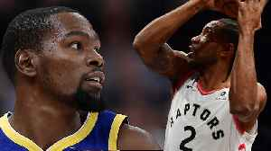 Kevin Durant & Kawhi Leonard BOTH LOOKING To Join The NETS For Next Season [Video]