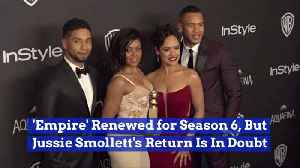 Empire Goes On Without Jussie Smollett [Video]