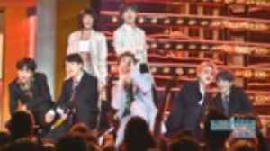 BTS & Halsey Dominate the Stage With 'Boy With Luv' Performance at 2019 BBMAs | Billboard News [Video]