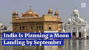 India Is Planning a Moon Landing by September [Video]