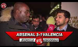 Arsenal 3-1 Valencia | We Must Play Our Best Team From Now 'Til The End Of The Season! (Afzal) [Video]