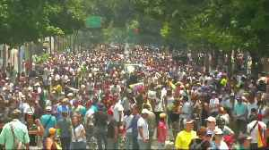 Thousands of protesters dial up pressure on Maduro [Video]