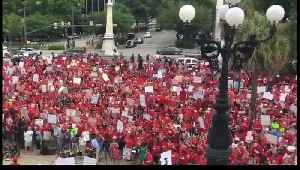 Thousands of Teachers Rally at South Carolina Statehouse [Video]