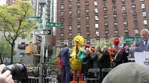 New York Mayor renames road to 'Sesame Street' and announces annual Sesame Day [Video]