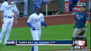 Kansas City Royals rout Rays 8-2 to complete doubleheader sweep [Video]