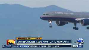 United Airlines adds nonstop to Frankfurt [Video]