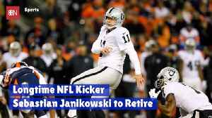 A Well Known NFL Kicker Is Retiring [Video]