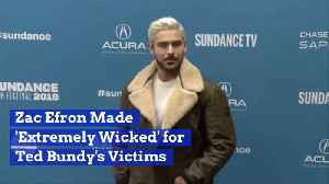 Zac Efron Believes He Is Paying Tribute To Ted Bundy Victims [Video]