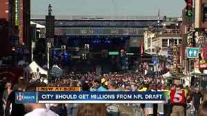 City expects millions from NFL Draft [Video]