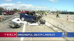Family Of Driver Who Died In Tesla Autopilot Crash Files Lawsuit [Video]