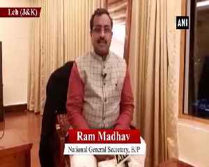 Everyone in India should be happy Ram Madhav [Video]