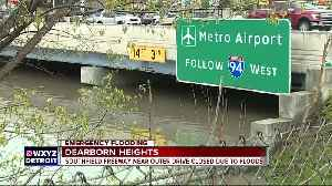 Massive flooding closes Southfield Freeway at Outer Dr. as water rises nearly 14 feet [Video]