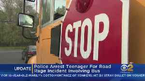 Teen Arrested In Road Rage Incident [Video]