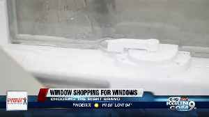 Consumer Reports: Window shopping for windows [Video]