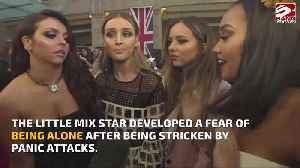 Perrie Edwards was afraid to be alone [Video]