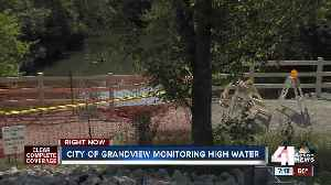 Amid continued heavy rainfall, Grandview monitors flood-prone areas [Video]