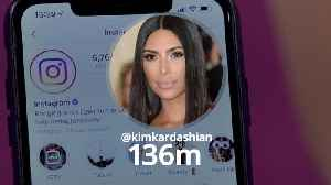 Top 10 followed accounts on Instagram [Video]